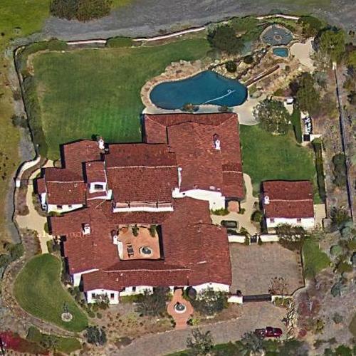 Steve Mollenkopfs House In Rancho Santa Fe CA Google Maps