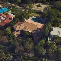 Paris Hilton's House in Los Angeles, CA (Google Maps)