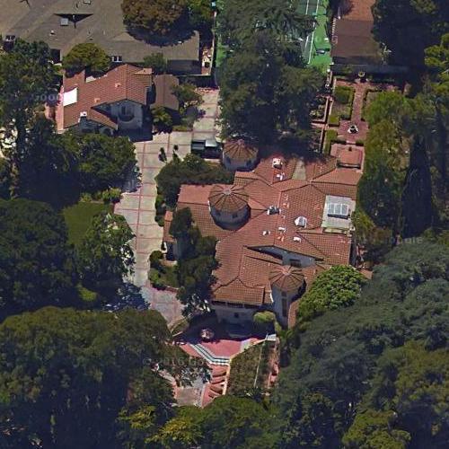 Alex Trebek S House In Los Angeles Ca Virtual Globetrotting