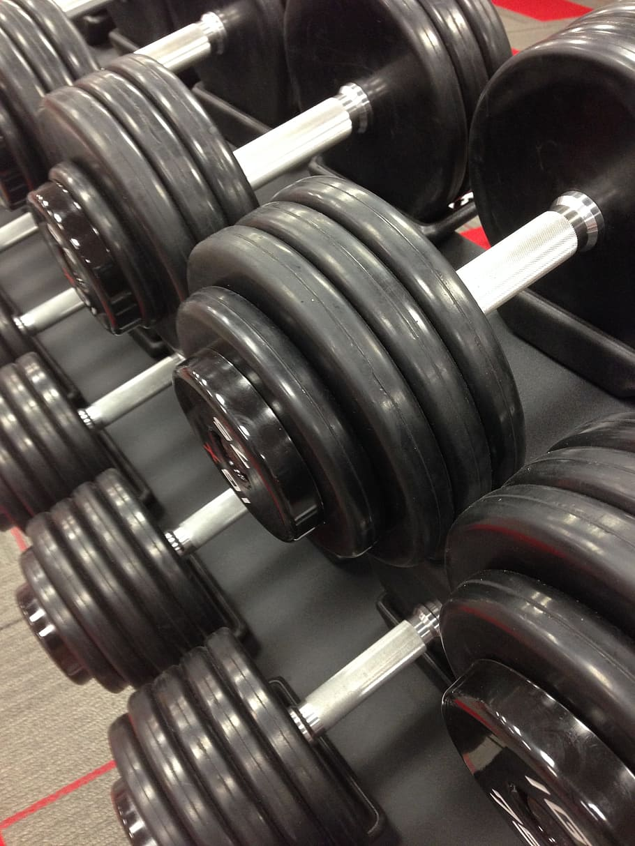 Weights Wallpaper : weights, wallpaper, Wallpaper:, Black, Dumbbell, Weights,, Workout,, Exercise,, Fitness,, Wallpaper, Flare