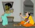 Gopal Bhar Episode Bidhoba Pisir Lau Chingri Khawoa