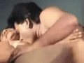 Desi Mom With Lover On Bed