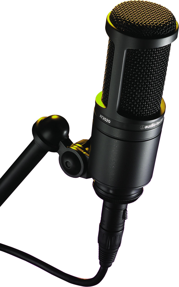 microfone condensador AT2020