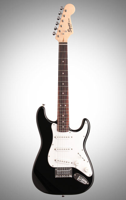 Squier Affinity Mini Stratocaster Electric Guitar Rosewood Fretboard