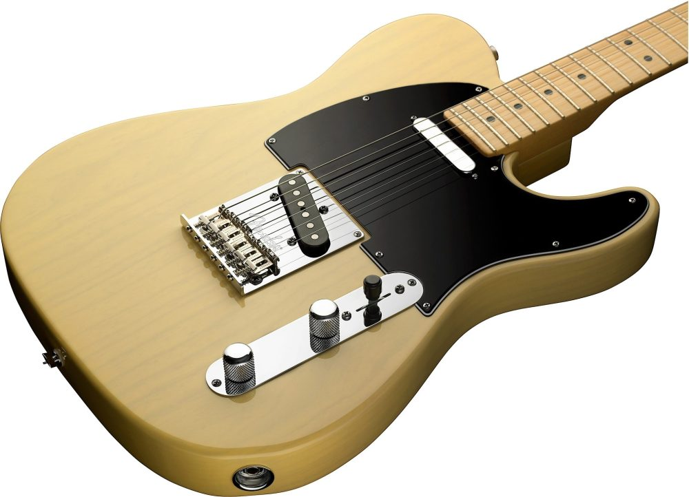 medium resolution of  fender 60th anniversary telecaster electric guitar maple with case blackguard blonde