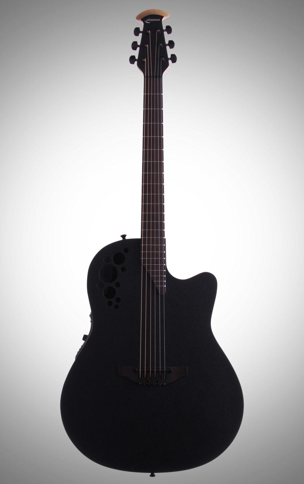 medium resolution of ovation 1778tx elite t series mid depth bowl acoustic electric guitar black
