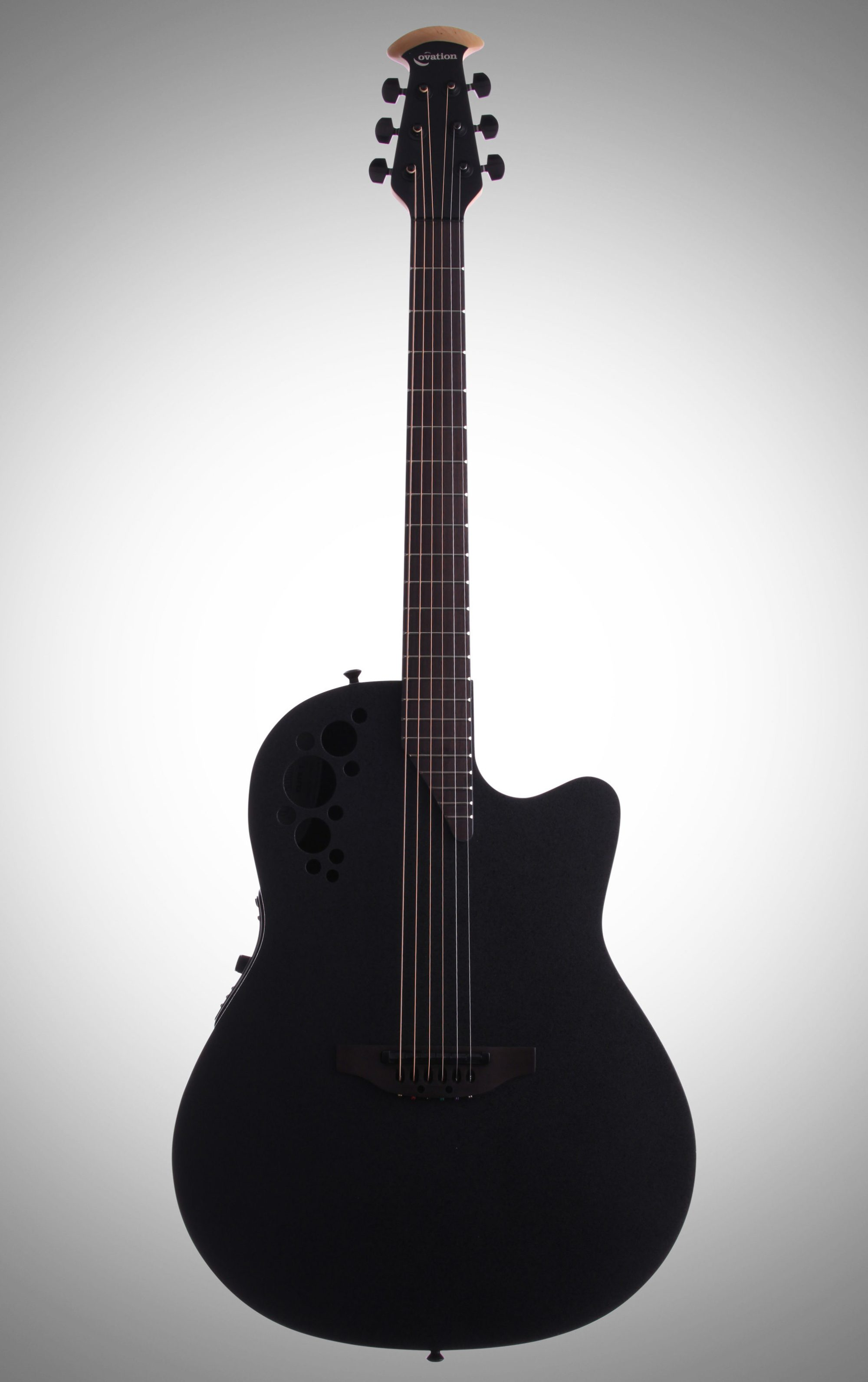 hight resolution of ovation 1778tx elite t series mid depth bowl acoustic electric guitar black