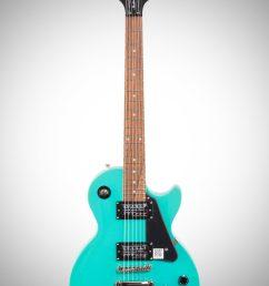 turquoise epiphone les paul studio electric guitar  [ 2012 x 3200 Pixel ]