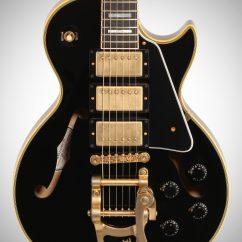 Gibson Les Paul Custom Semi Hollow Wiring Diagram Modern Limited Edition Es Black Beauty 3-pickup