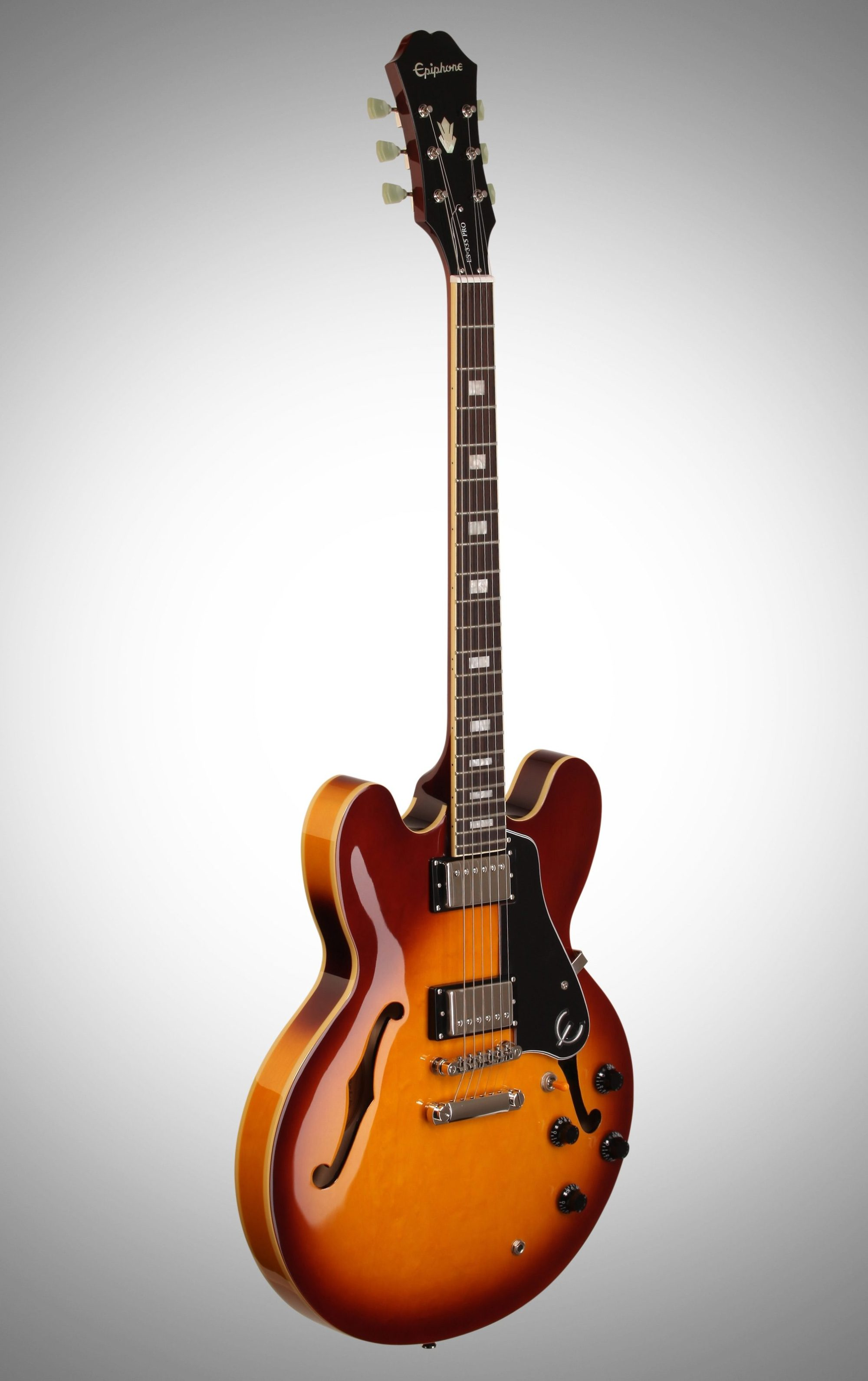 hight resolution of  body epiphone exclusive limited edition es 335 pro electric guitar ice tea burst