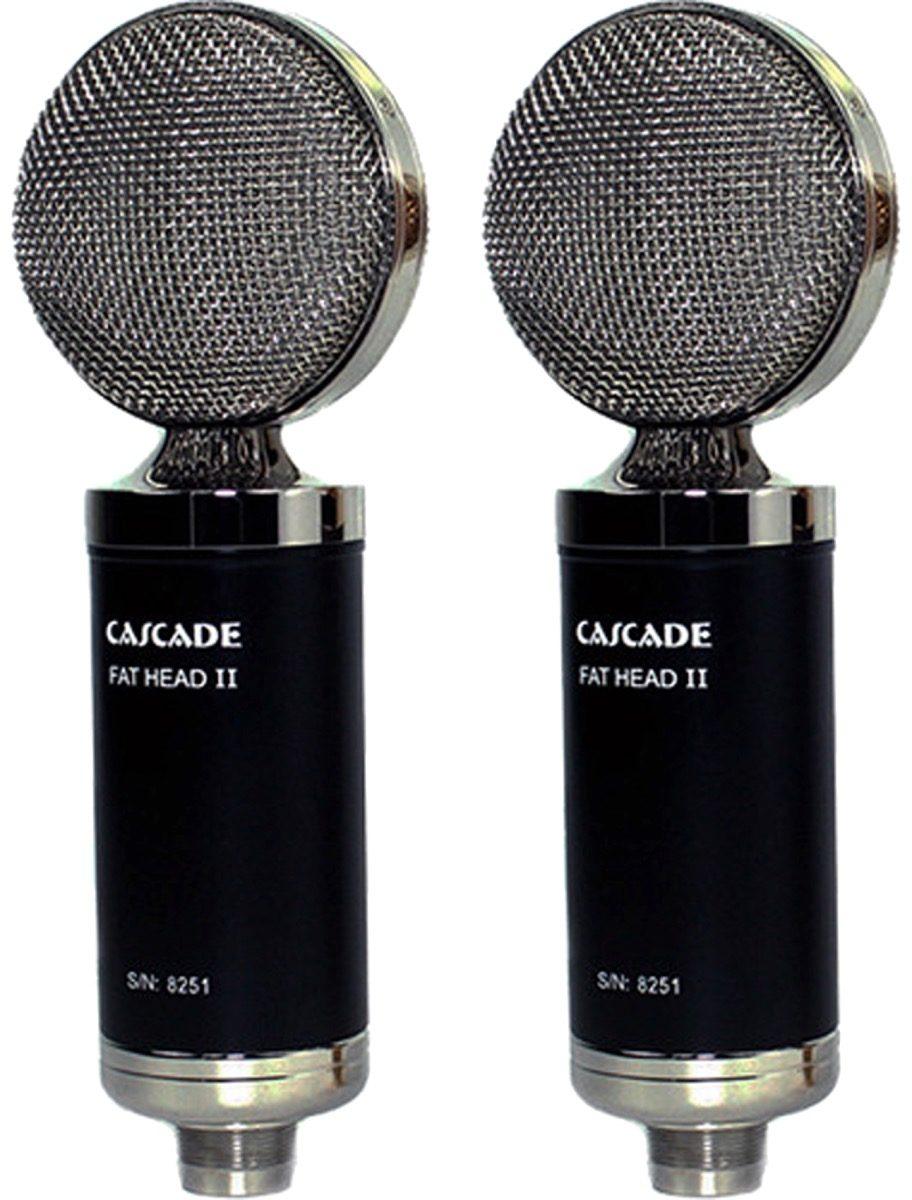 cascade microphones fat head