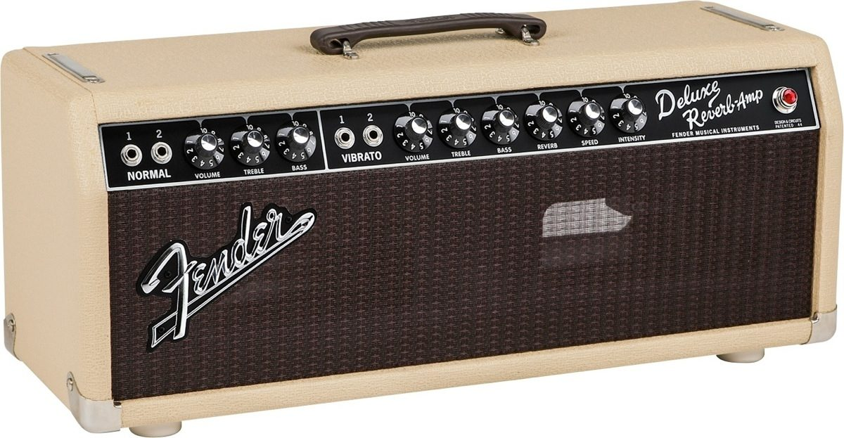 Fender Limited Edition 65 Deluxe Reverb Guitar Amplifier Head
