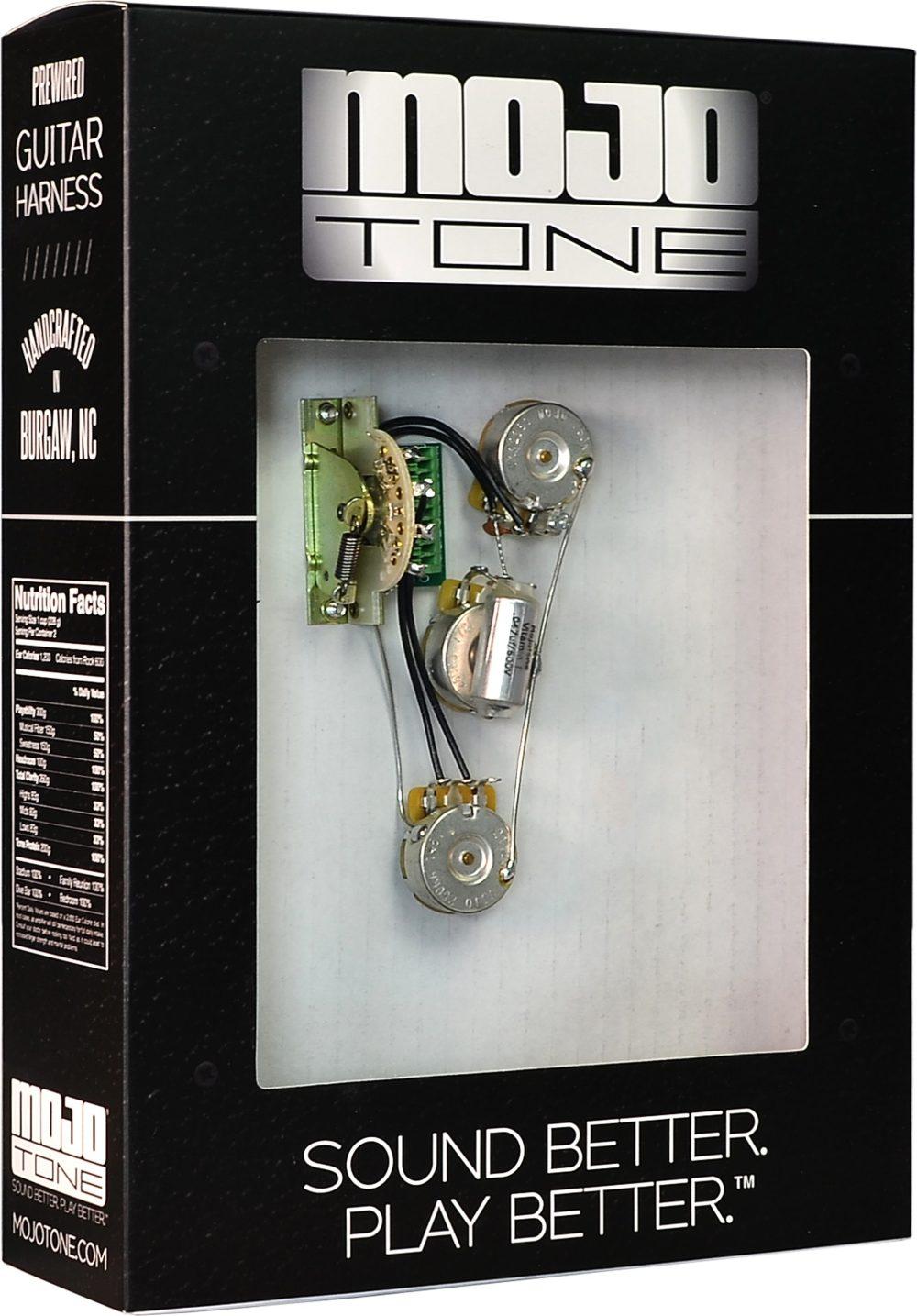 medium resolution of  mojotone solderless strat blender guitar wiring harness new action position back