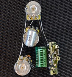 mojotone solderless strat standard guitar wiring harness new  [ 1200 x 1200 Pixel ]