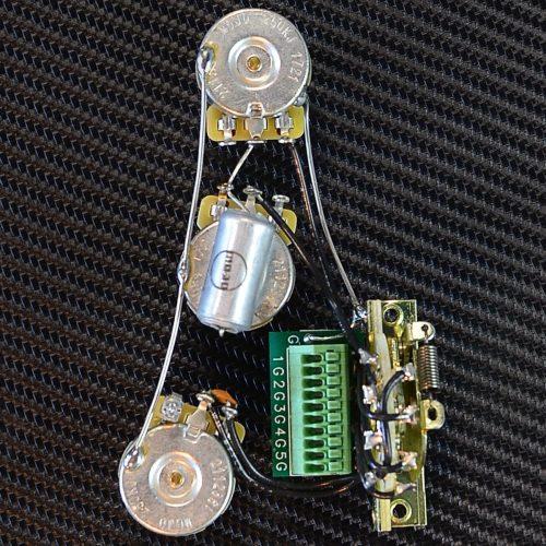 small resolution of mojotone solderless strat standard guitar wiring harness new
