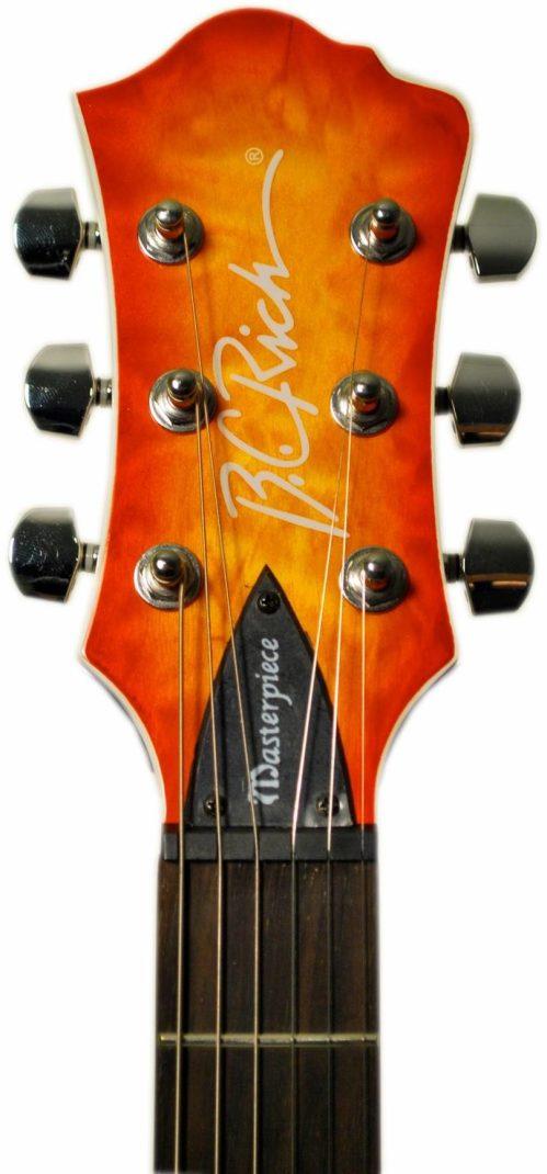small resolution of transparent amber b c rich masterpiece mockingbird electric guitar transparent amber burst