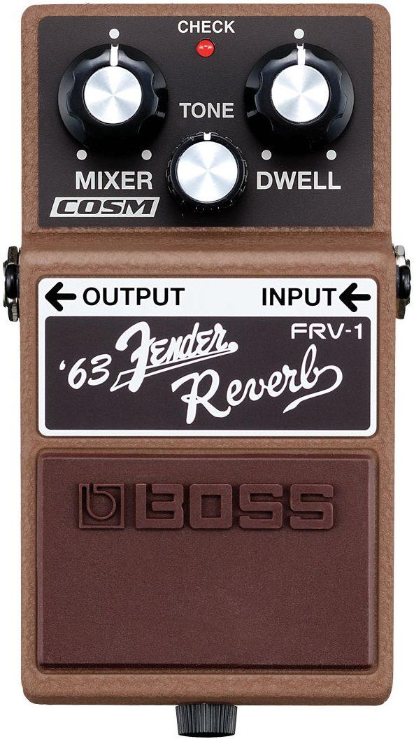 Boss Frv 1 Fender 63 Reverb Pedal