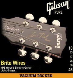 gibson brite wires [ 1365 x 1403 Pixel ]