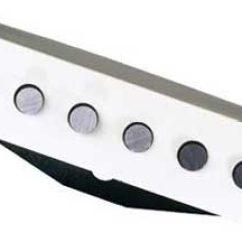 Dimarzio Hs3 Wiring Diagram Hiniker V Plow Dp217 Yjm Single Coil Pickup Zzounds White