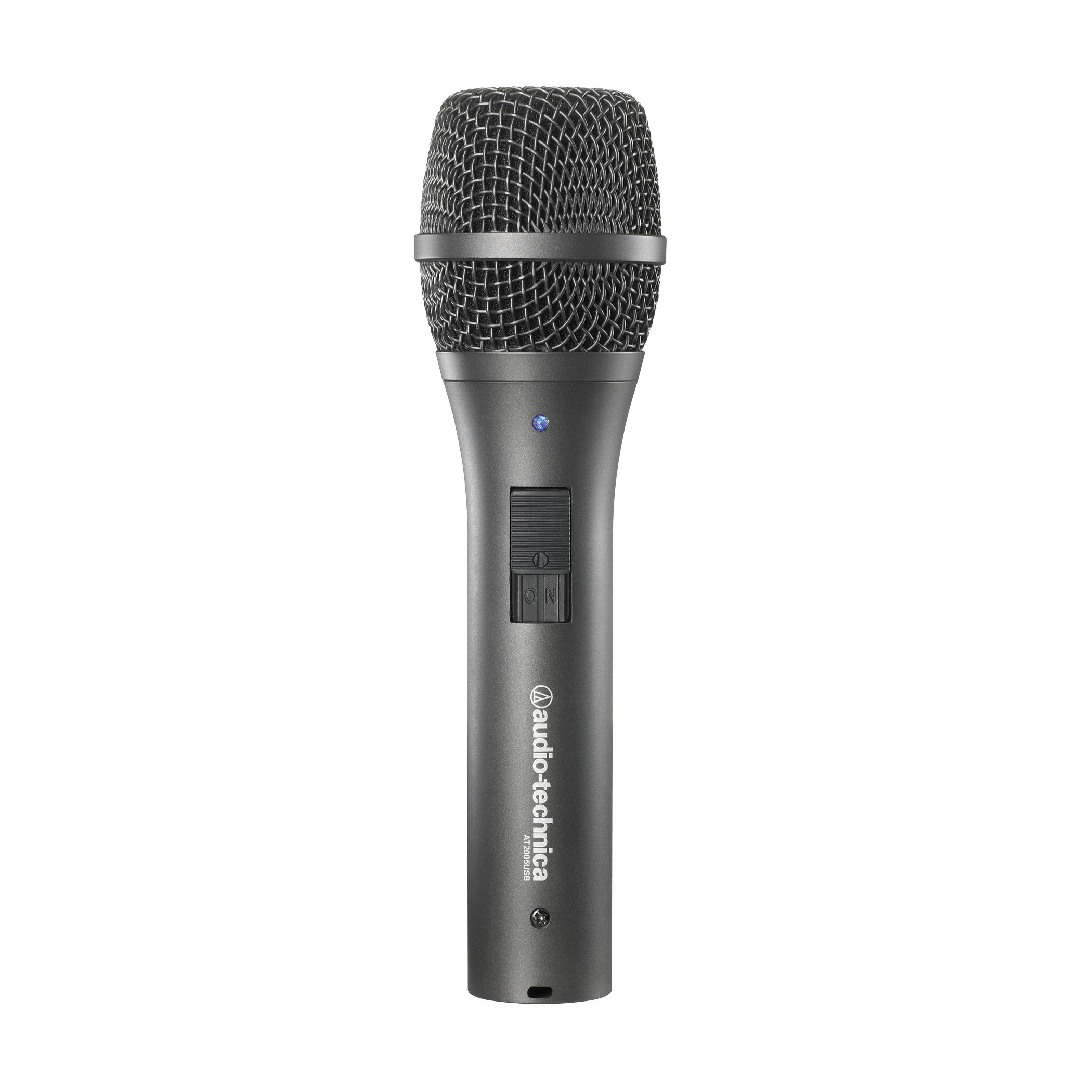 Audio-Technica AT2005USB Dynamic Handheld USB and XLR Microphone