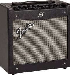 fender mustang i v 2 guitar combo amplifier 20 watts zzounds fuse box tap amp effect [ 1195 x 1200 Pixel ]