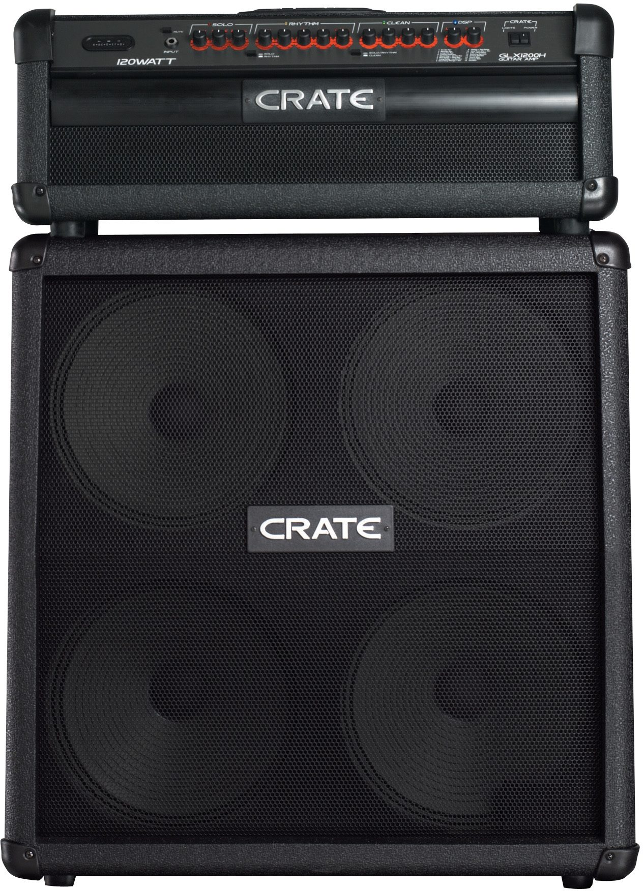 Crate GLX1200 H Half Stack with G412SL User Reviews  zZounds