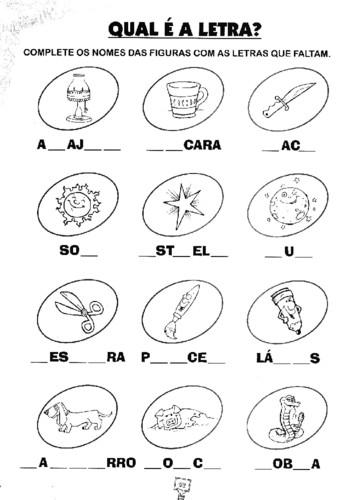 Atividades Sobre Gramática Para 1º e 2º Ano Do Ensino