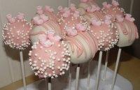 Baby Shower Cakes: Baby Girl Shower Cake Pop Ideas