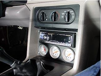 Ac Amp Gauge Wiring Aftermarket Head Unit Single Or Double Din Mustang
