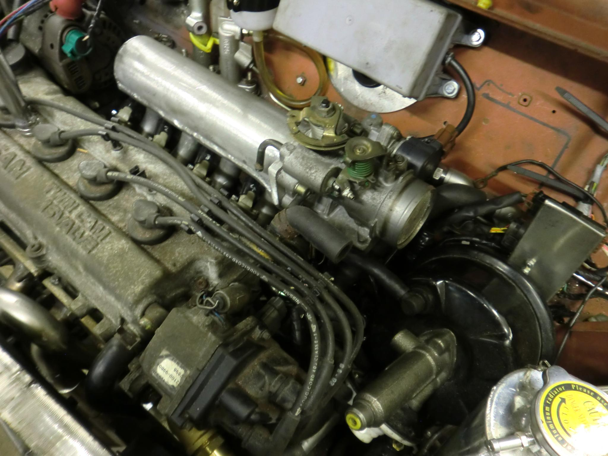 Random Stuff Micra Mini Project Wiring Loom I Have Re Jigged The To Cope With Fact That Throttle Body And Its Sensors Are In A Completely Different Place Compared Original