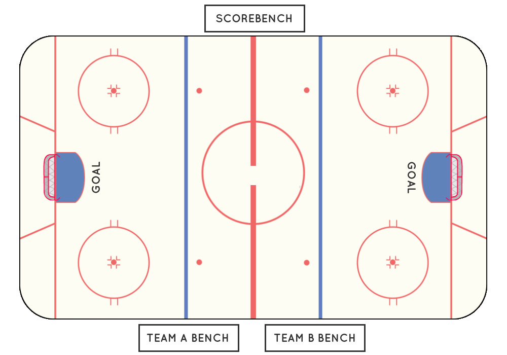 hockey player diagram hr worksheet middle school playing inline waihi miners club rink