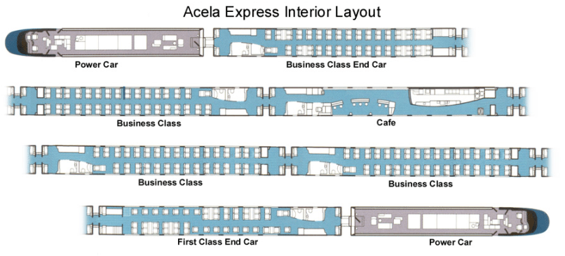 amtrak train seating chart. Black Bedroom Furniture Sets. Home Design Ideas