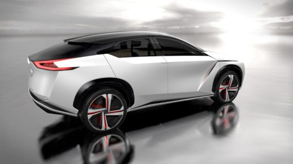 Nissan IMx all wheel drive battery electric SUV