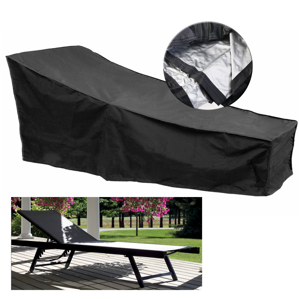 Outdoor Lounge Chair Cover Pool Sunlounger Sun Recliner