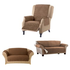 Waterproof Sofa Protector Full Leather Sofas Uk 1/2/3 Seater Dog Cat Cover Pet Furniture ...