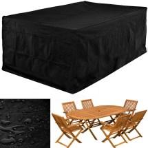 Large Rectangular 6-8 Seat Garden Patio Furniture Set