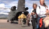 Jamestown, Colorado Aerial Evacuation
