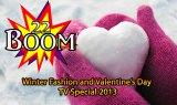 Winter Fashion and Valentine's Day