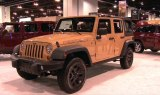 Jeep Display and Camp Jeep at the 2013 Denver Auto Show