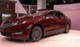 Lincoln MKZ Display at the 2013 Denver Auto Show
