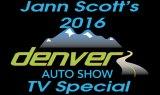 ann Scotts 2016 Denver Auto Show TV Special