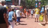 Pearl Street Mall in the Summer