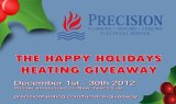 Precision Plumbing - Happy Holidays Heating Giveaway