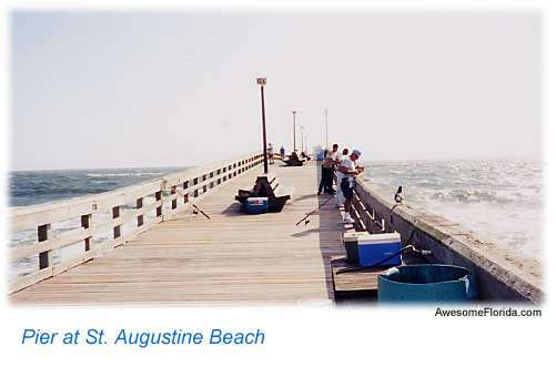 Best 5 fishing piers in the st augustine florida area for Fishing piers in florida