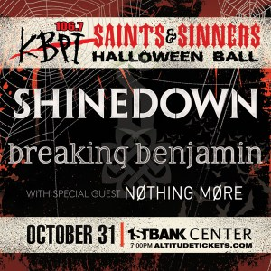 106.7 KBPI Saints & Sinners Halloween Ball