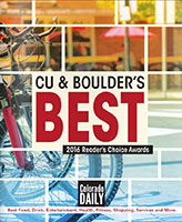 Colorado Daily's - CU and Boulder's Best