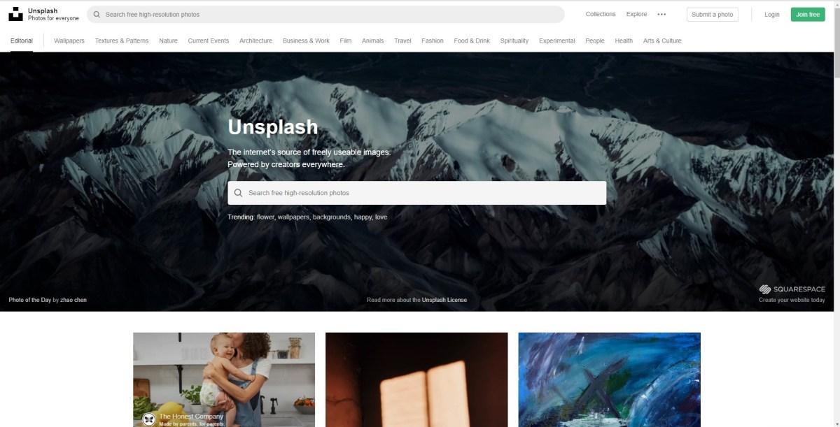 商用利用可能な写真サイト「unsplash.com」への登録からダウンロードまでの話