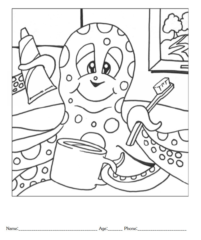 Coloring Contest Award Certificate Coloring Pages