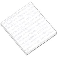 Happiness Memo Pad Template Small Memo Pads | ArtsCow.com