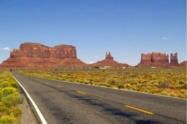 monument valley scenic drive